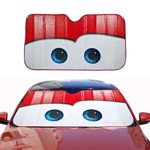 Foldable Big Eyes Cartoon Visor Sun Cover Block Fit for Car Windshield SunShade