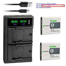 Kastar Battery LTD2 USB Charger for Sony NP-BK1 BC-CSK Sony Cyber-shot DSC-W370
