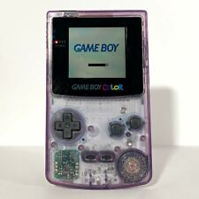 Nintendo GameBoy Color Lila Transparent Neue Game Boy Displayscheibe GBC Gut