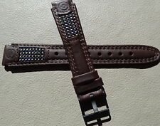New Small Womens Timex Expedition Brown Water Resistant Leather 14mm Watch Band