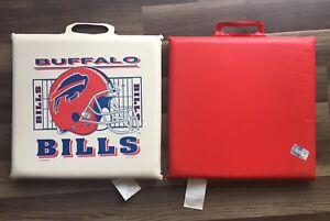 Buffalo Bills Seat Cushion (2) Made In USA NFL Man cave