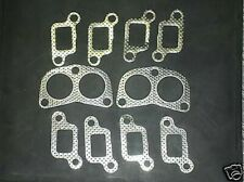 RANGE ROVER V8 EXHAUST MANIFOLD + DOWNPIPE GASKET SET FOR CLASSIC