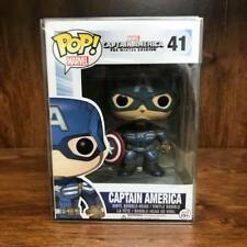 Funko Pop Marvel - Captain America #41 Vaulted Vinyl Figure w/Case