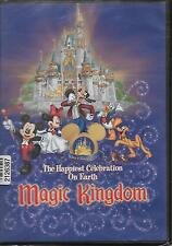 "MAGIC KINGDOM..""THE HAPPIEST CELEBRATION ON EARTH""...NEW THEME PARK SOUVENIR DVD"