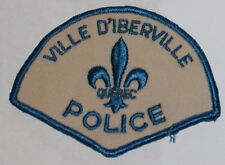 VILLE D'IBERVILLE POLICE Quebec Canada Canadian PD patch