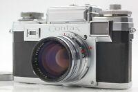 ***Mint*** Zeiss Ikon Contax IIIa Film Camera w/ Sonnar 50mm F/1.5 Lens