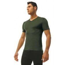 D FensT-shirt estiva scollo a V D.Fens verde LIGHT ALBA0028  tag- XL