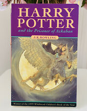 Harry Potter And The Prisoner Of Azkaban First Edition First Print Rare Errors