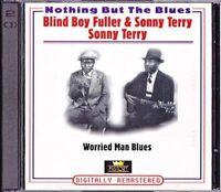 Blind Boy Fuller Nothing but the blues-Worried man blues (39 tracks, & .. [2 CD]