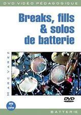VAREZ MARC BREAKS FILLS & SOLOS DE BATTERIE DRUMS MUSIC MUSIQUE DVD FRENCH