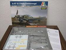 Ju 87 g-2 Stuka kanonenvogel de Italeri en escala 1:48 * nuevo *
