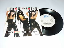 "DEAD OR ALIVE - Come Home With Me Baby - 1989 UK 2-track 7"" Vinyl Single"