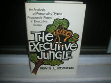 The Executive Jungle by Irwin L. Rodman (1972, Hardcover)