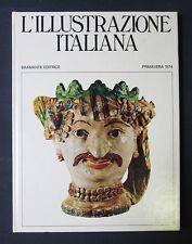 SICILIA POPOLI CULTURE Illustrazione Italiana 1974 Bramante Milano