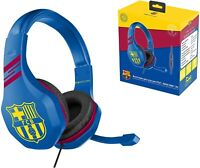 Barcelona FC Gaming Headset with Microphone for PS4, Xbox One, PC