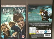 HARRY POTTER AND THE DEATHLY HALLOWS PART 1 DVD 3 DISC SPECIAL EDITION SLIPCASE