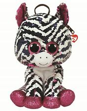 Ty Beanie Fashion 95030 Zoey The Zebra Back Pack Sequin