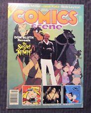 1982 COMICS SCENE Magazine #3 FN 6.0 Frank Miller - Conan - Secret of Nimh