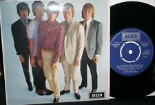 """The Rolling Stones vinyl 7"""" EP: Five By Five,w/ Orig. Decca UK Pic Sleeve,1964"""