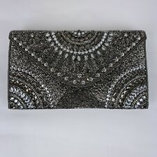 ed2841585 Nordstrom ALHAMBRA Hand Beaded Evening Bag Crossbody Clutch Prom Wedding