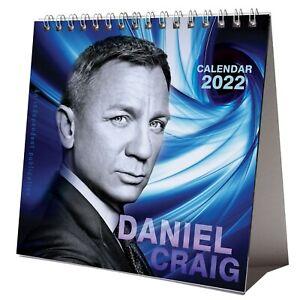 Daniel Craig 2022 Desktop Calendar NEW Desk 12 Months