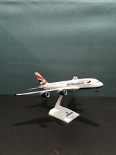 RARE NIB Risesoon Everrise Skymarks British Airways A380 w/Stand & Gear 1:200