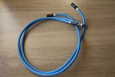 MYRYAD The ANDROMEDA 1M RCA Phono Cable Interconnects Inc WBT 0144 pair