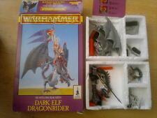 WARHAMMER, beastlord rakarth Elfo Oscuro Cavaliere dei draghi, CITTADELLA WARHAMMER, in scatola.