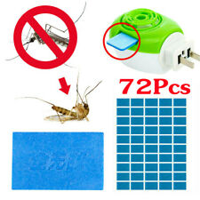 72Pcs Mosquito Repellent Insect Bite Mat Tablet Refill Replace Pest Repeller B15