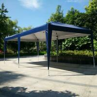New 10'x 20'Canopy Gazebo Easy Pop Up Waterproof Tent Outdoor Wedding Party Tent