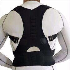 Posture Corrector Support Men Women Magnetic Back Shoulder Brace Belt Adjustable
