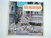 SAN FRANCISCO View-Master 3 Reel Pack A172 Sawyers S6 1962 - DT