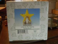 Charming Tails A Star In The Making Item 82/117 Fitz & Floyd Figurine with Box