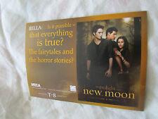 Twilight New Moon Neca Trading Card T-8 Robert Pattinson , Kristen Stewart