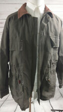 Vintage Timberland Weather Gear Draw String Waist Barn Coat Large