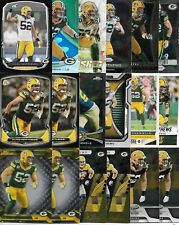 CLAY MATTHEWS (218) Card Lot 46 Different w/ Inserts Premiums PACKERS