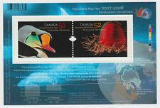 Canada- #2205B International POLAR YEAR Souvenir Sheet - MNH