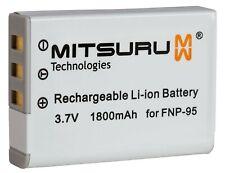 Mitsuru® 1800mAh Battery for Fujifilm FinePix 3D F30 F31fd REAL W1 X-S1 X100