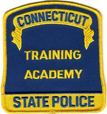 Connecticut State Police Training Academy  patch