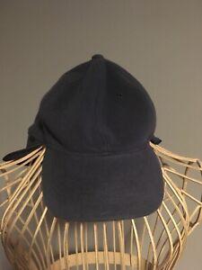 TCM Snow Gear Dark Grey Cap Hat Neck Cover Men's Unisex Polyester
