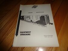 Chicago and North Western Railway Lading Protection  Equipment Brochure 1970