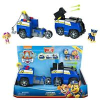 PAW PATROL 6056033 Chase Split-Second 2-in-1 Transforming Police Cruiser Vehicle