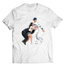 Baseball T-Shirt - Cool Funny Hand Drawn Cotton LA Gift For Her Him Funny Shirt
