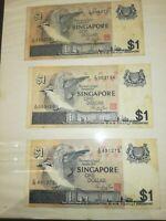 BANCONOTA 1 DOLLARO SINGAPORE SPL