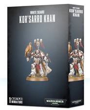 ON STOCK! White Scars miniatures: Kor'sarro Khan