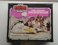 Vintage 1980 Star Wars Rebel Armored Snowspeeder Empire Strikes Back with Box