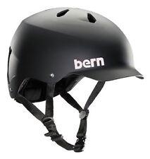 Bern Watts EPS Summer Cycling Helmet (Matte Black / X-Large Size)
