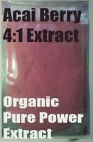 Acai Berry 4:1 Organic Extract Powder 25g-500g- Amazon Antioxidant Superfood