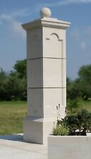 Gate Piers Pillars Cast Stone PG-05