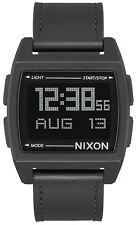 Reloj Hombre Nixon The Base A1181001 de Cuero Negro